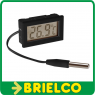 TERMOMETRO DIGITAL PANEL -50º +100ºC PRECISION 1ºC PILA BOTON 48X30X15MM BD3676 -