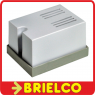 TIMBRE ZUMBADOR ELECTROMECANICO CHICHARRA 220VAC 82DB BLANCO 60X45X34MM BD767 -