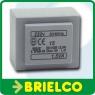 TRANSFORMADOR DE ALIMENTACION ENCAPSULADO 1.5VA ENTRADA 220V SALIDA 7.5+7.5V BD7689 -