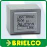 TRANSFORMADOR ALIMENTACION ENCAPSULADO 2.5VA ENTRADA 220V SALIDA 2X6VAC BD7716 -