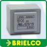 TRANSFORMADOR ALIMENTACION ENCAPSULADO 2.5VA ENTRADA 220V SALIDA 6VAC BD7714 -