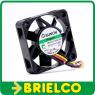 VENTILADOR TERMOPLASTICO 12VDC 0.72W 40X40X10MM 7000 ROTAC/MIN 3 CABLES BD11380 -