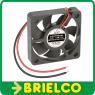 VENTILADOR TERMOPLASTICO 12VDC 0,12A 50X50X10MM 5500 ROTAC/MIN 2 CABLES BD2843 -