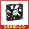 VENTILADOR TERMOPLASTICO 12VDC 1.36W 70X70X15MM 3300 ROTAC/MIN 3 CABLES BD11381 -