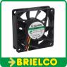VENTILADOR TERMOPLASTICO 12VDC 1.56W 70X70X20MM 3200 ROTAC/MIN 3 CABLES BD11382 -