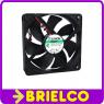 VENTILADOR TERMOPLASTICO 12VDC 1.9W 120X120X25MM 2200 ROTAC/MIN 2 CABLES BD11384 -