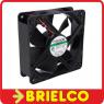 VENTILADOR TERMOPLASTICO 12VDC 10W 120X120X38MM 3100 ROTAC/MIN 2 CABLES BD11385 -