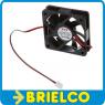 VENTILADOR TERMOPLASTICO 12VDC 60X60X15MM 5400 ROTAC/MIN MOLEX 2 PINES BD11779 -