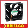 VENTILADOR TERMOPLASTICO 24VDC 1.8W 80X80X25MM 3200 ROTAC/MIN 3 CABLES BD11366 -