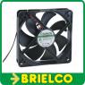 VENTILADOR TERMOPLASTICO 24VDC 5W 120X120X25MM 3100 ROTAC/MIN 2 CABLES BD11369 -