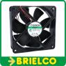 VENTILADOR TERMOPLASTICO 24VDC 9.2W 120X120X38MM 3100 ROTAC/MIN 2 CABLES BD11367 -