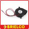 VENTILADOR TIPO TURBINA 12VDC 0.06A 50X15MM CONECTOR MOLEX 2 PINES BD11773 -