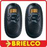 WALKIE TALKIE PMR 446 CON 8 CANALES ESCANEO 5KM MAX PAREJA ALERTA 3XAAA BD9355 -