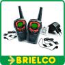 WALKIE TALKIE RECARGABLE PMR446 48 CANALES 10KM MAX VOX CARGADOR PAREJA BD9354 -